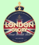Greene King London Glory pump clip